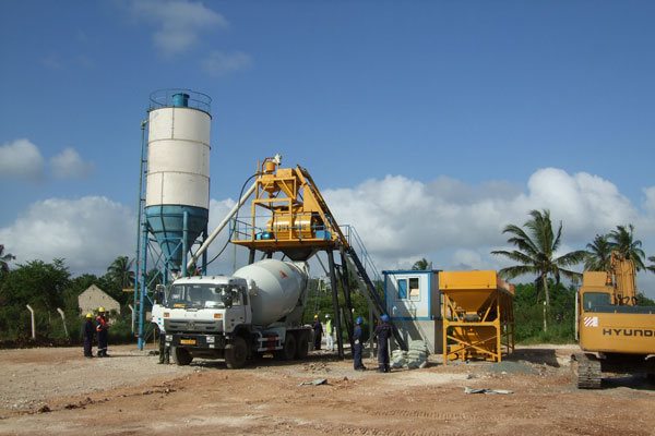 Mini Concrete Batch Plant : Concrete batching plant