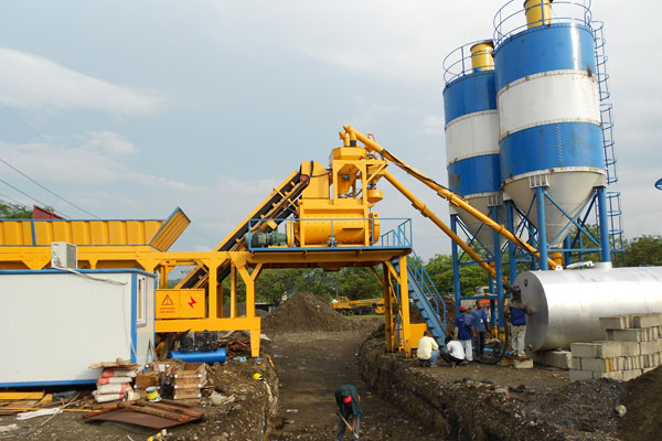 UTM-35 Mobile Concrete Mixing Plant